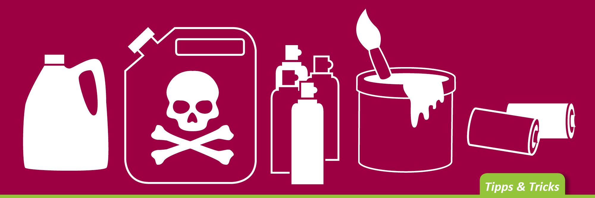 Schadstoffe regelmäßig entsorgen